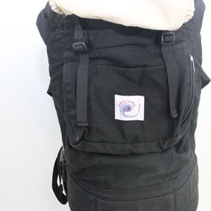 Ergo Baby Other - Ergo Baby Carrier Sport Black Tan Hood 4 Position